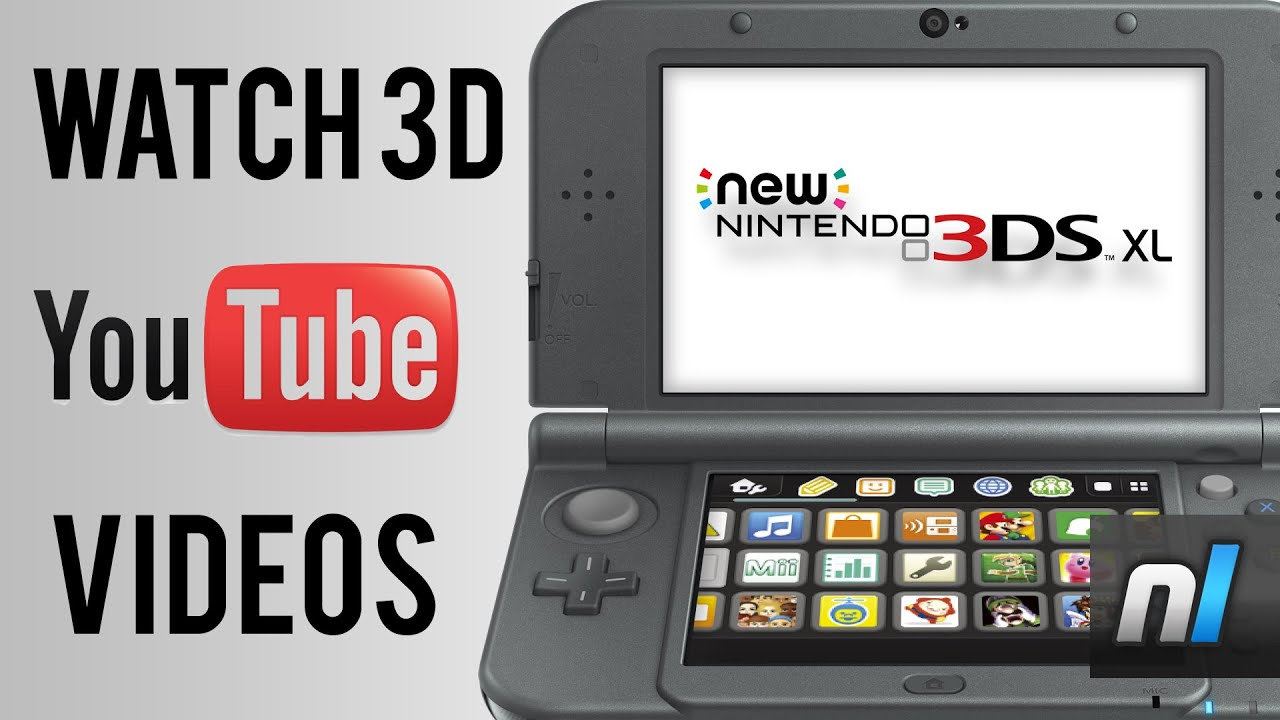 How To Watch 3D YouTube Videos On The New Nintendo 3DS!