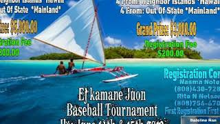 Ailiñlaplap Baseball Tournament 2019
