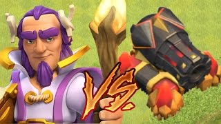 Clash of Clans - Grand Warden vs. Cannon: 1v1 DEATHMATCH!
