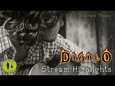 Kirya Live! Diablo OST — Tristram Theme (live guitar cover)