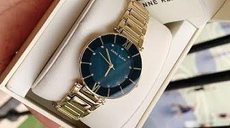 Anne Klein AK/3198NVGB Watch - Đồng Hồ Nữ Giá Rẻ