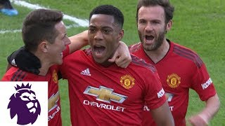 anthony martial run from midfield turns goal 2 0 for united v fulham premier league nbc sports