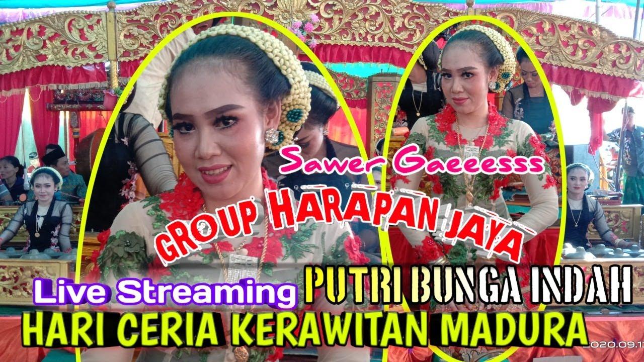 "Live Streaming HARI CERIA KERAWITAN MADURA ""PUTRI BUNGA INDAH"" DI ISTANA GROUP HARAPAN JAYA"