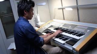 楽譜ポピュラーシリーズJ-BRASSから。(6級)