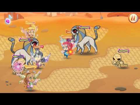 Игра Битва Блумикс Винкс карта 2 Пустыные дюны. Полное прохождение