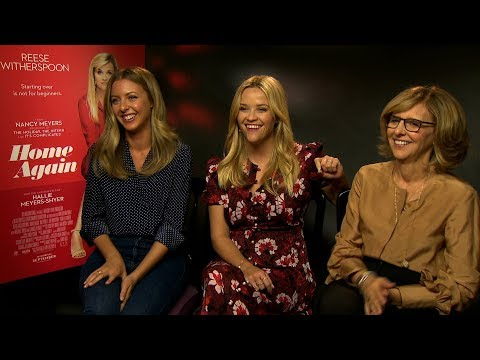 Home Again interview: hmv.com talks to Reese Witherspoon, Hallie Myers-Shyer & Cynthia Myers