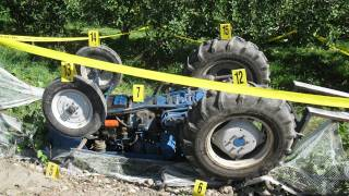 Tractor accidents: three crushed in tractor rollovers