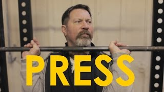 How to Overhead Press With Mark Rippetoe | The Art of Manliness thumbnail