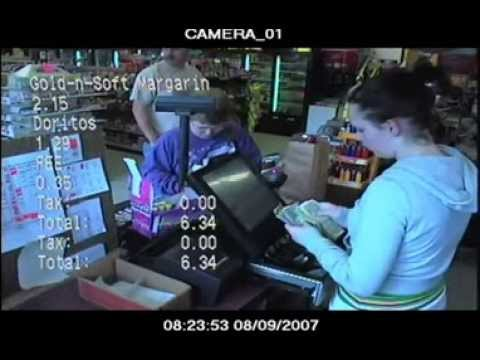 Text Insert From Your Cash Register To Your Surviellance Cameras Systems