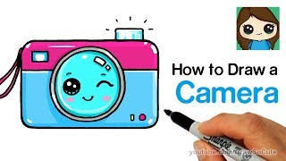 How to Draw a Camera Cute and Easy