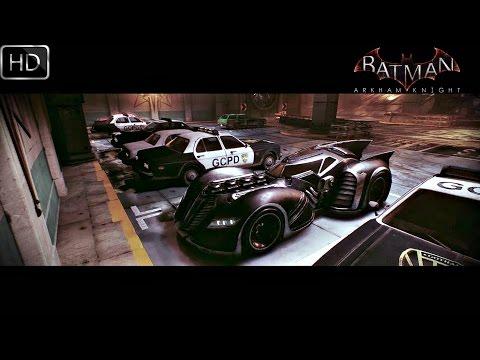 Batman Arkham Knight: Arkham Asylum Batmobile Gameplay HD
