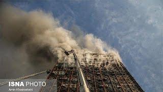 İran'da 17 katlı bina çöktü: En az 30 ölü