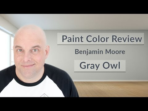Benjamin Moore Gray Owl Color Review