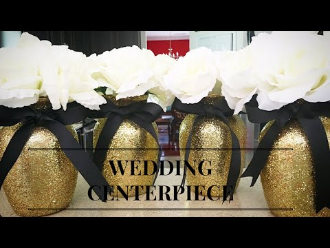 Easy & Elegant Centerpiece DIY ~ Weddings, Parties or Glam Celebrations
