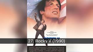 Les meilleurs films de Sylvestre Stallone