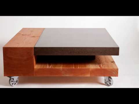 Concrete Coffee Tables  YouTube