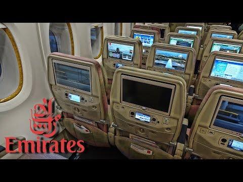 WORLDS BEST ECONOMY CLASS! | EMIRATES | BANGKOK-HONG KONG | A380