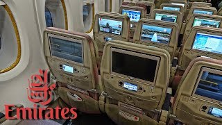 WORLDS BEST ECONOMY CLASS! | EMIRATES | BANGKOK-HONG KONG | A380