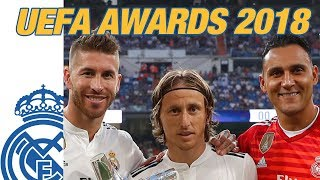 MODRIC, RAMOS and NAVAS win UEFA Awards 2018!