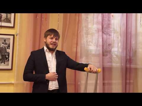 Константин Соломахин   фрагмент выступления на празднике 30 летнего юбилея ОМОН Росгвардии в библиот