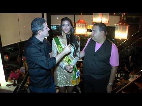 Jantar com Jakelyne Oliveira Miss Brasil 2013