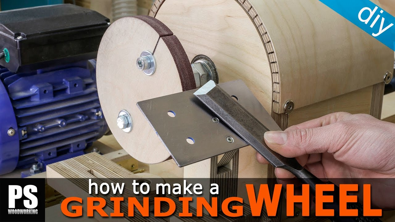 How To Make A Grinding Wheel For The Lathe Youtube