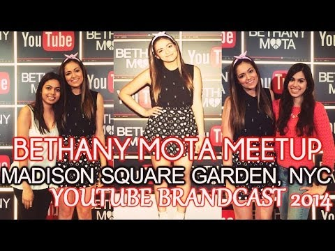Access youtube best friends with bethany mota meet greet nyc brandcast 2014 m4hsunfo