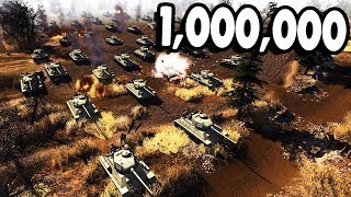 Glorious 1,000,000 Man Army INVADES GERMANY | RobZ Realism | Men of War: Assault Squad 2 Gameplay