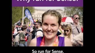 Why run the London Marathon for Sense?