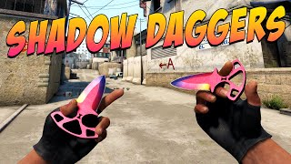 CS:GO - Shadow Daggers (Fade) Gameplay thumbnail