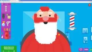 Google Santa Tracker: Shave Santa