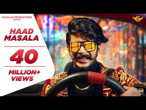 Haad masala Lyrics | Gulzaar Chhaniwala Mp3 Song Download