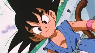 Goku turns SSJ4 againts Nuova Shenron | Dragon Ball GT