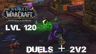 Wow | BFA Destruction warlock duels/Arena (Beta-8.0.1)