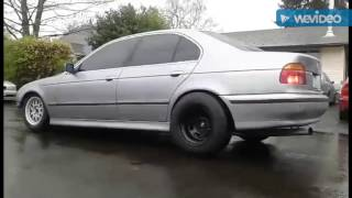 BMW E39 Turbo Drift Build Part: 3 - Driving it!