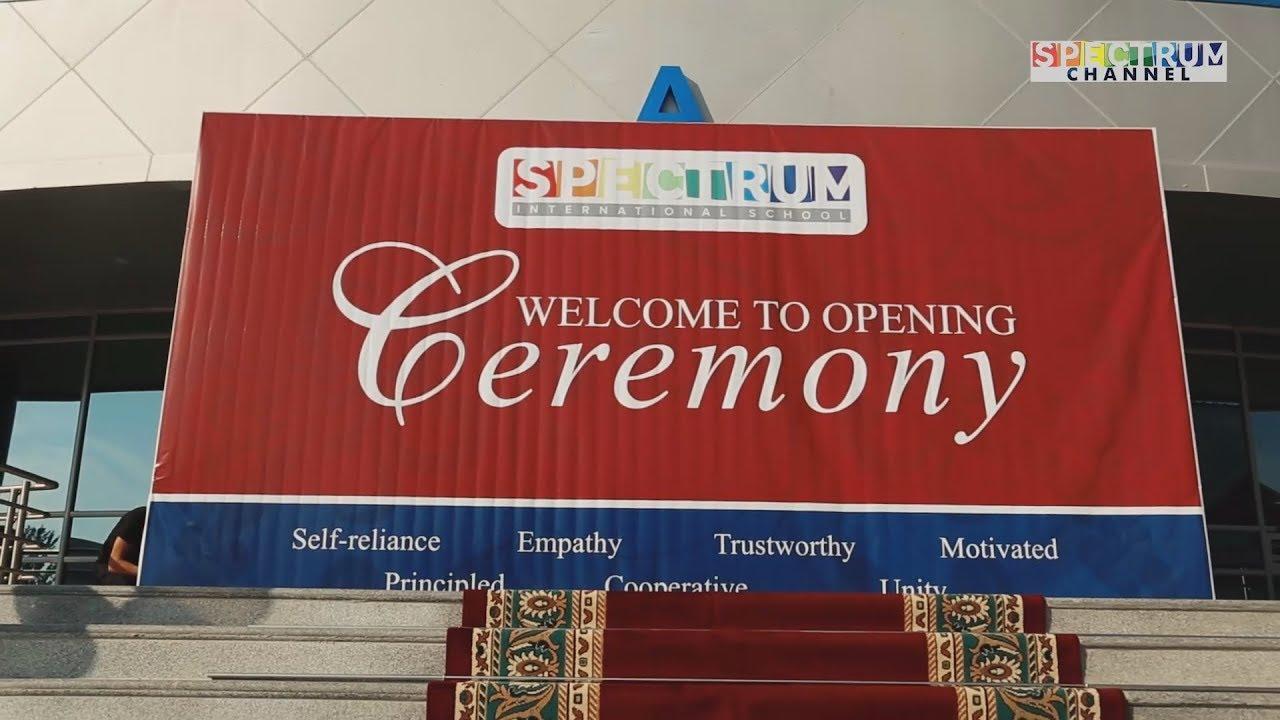 School Opening Ceremony   2017 - 2018 Academic Year