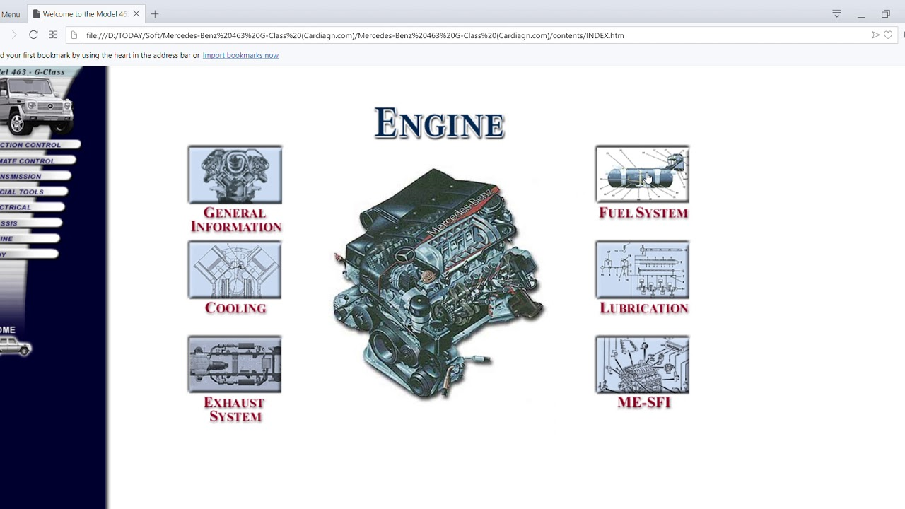 Mercedes-Benz 463 G-Class Technical Information - Get Absolutely FreeCardiagn