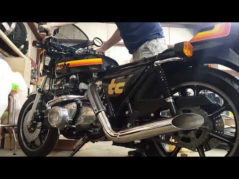 1979 Kawasaki Z1R-TC 1000 Turbo - Pure Engine Sounds!