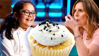 Sprinkles' Candace Nelson Blown Away by Kid Chef's Black Sesame Cupcake | Universal Kids