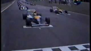 F1 GP BRASIL 1992 - Largada