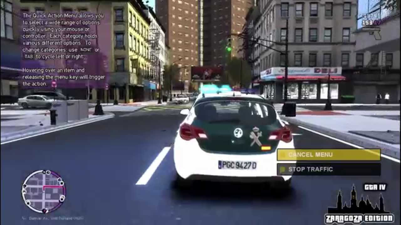 Charming GTA IV Zaragoza Edition   Nuevo Opel Astra J Guardia Civil [HD]   YouTube