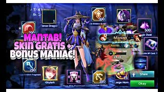 WENAKK! Di Gift Skin EPIC Fanny Skylark 1jt Sama Cemet Bin Jamet! + Gameplay!
