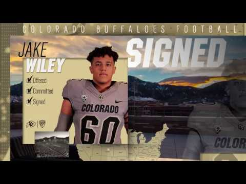 Jake Wiley Signing Day Highlights