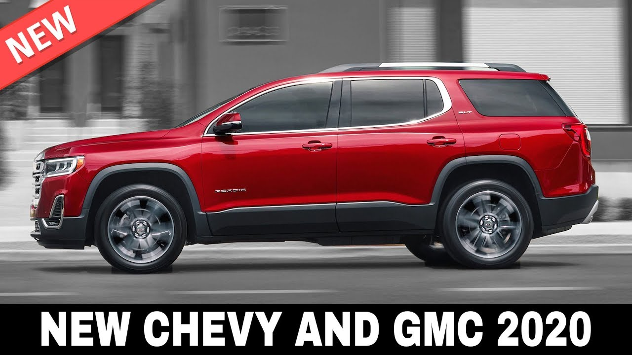 9 All New Chevrolet And Gmc Cars Arriving In 2020 Interiors And Exteriors Youtube