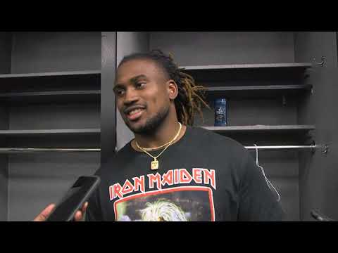 Patterson says Lynch gave him grief after getting caught from behind in 4th quarter
