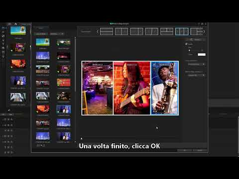 PowerDirector - Designer Di Collage Video