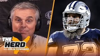How Frederick's retirement impacts Dak, Colin says Belichick & Pats have a plan | NFL | THE HERD