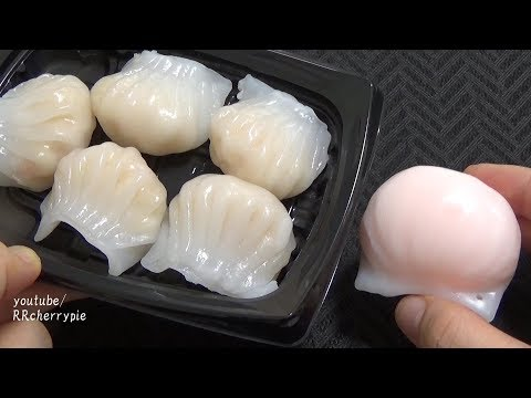Squishy 20 - Jiaozi, Fresh Spring Roll, Shrimp Siu Mai Dumplings