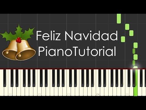 Feliz Navidad (José Feliciano - Christmas) - PianoTutorial