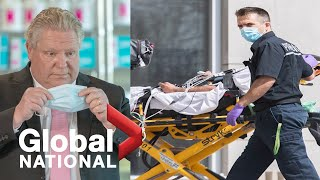 Global National: April 12, 2021 | Ontario hospitals in dire situation from third COVID-19 wave